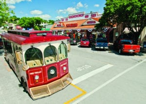 FREE DOWNTOWN BRANSON TROLLEY